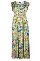 Lovedrobe Green/Multi Floral Print Maxi Dress